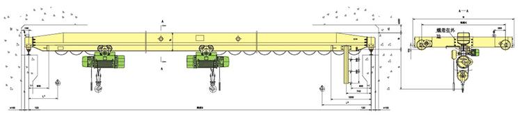 起重单梁葫芦接线图
