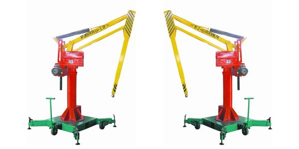 平衡吊结构及传动系统工作原理_起重机丨旋臂起重机|.